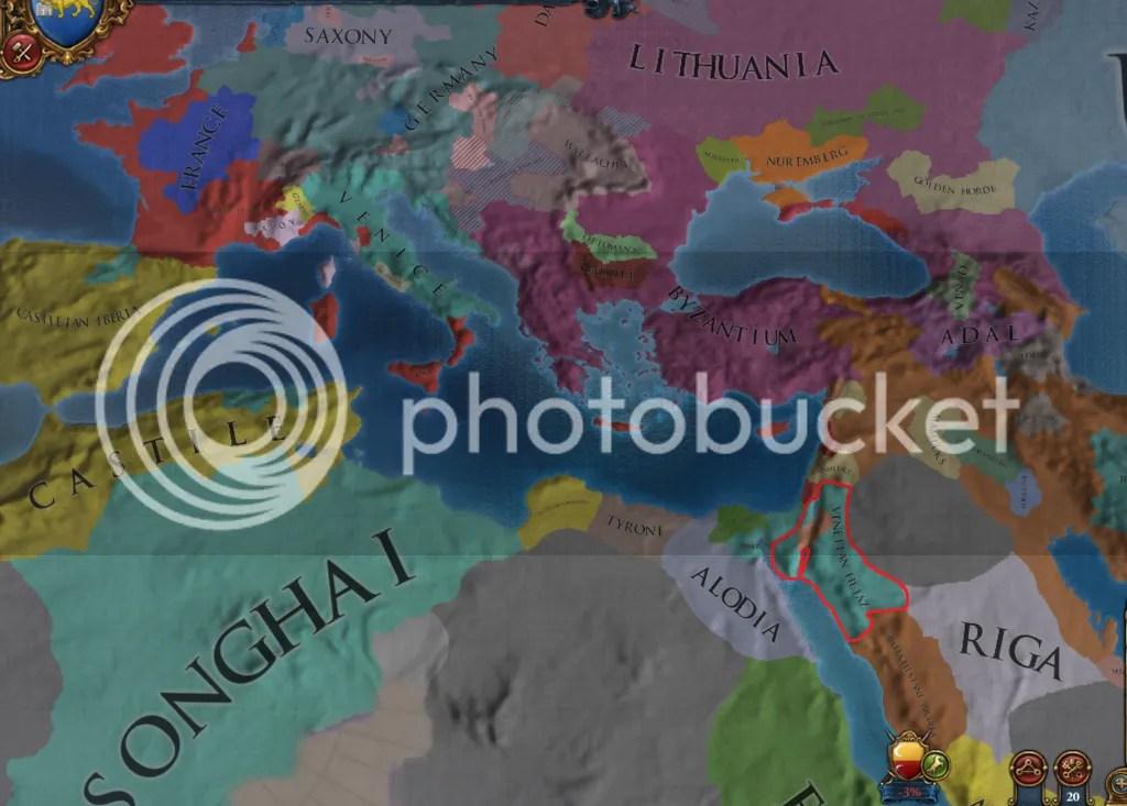 Europe, 1470.