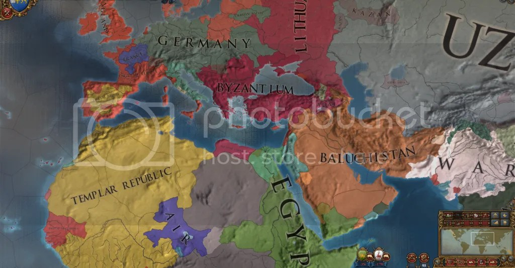 Europe, 1563