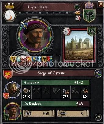 Siege of Cyrene