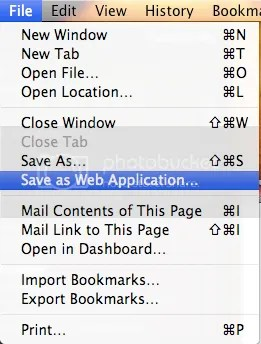 Safari4 WebApp