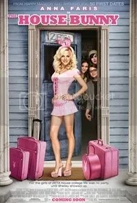 The House Bunny is starring Anna Faris.