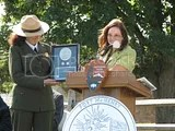 Rios presents commemorative plaque to Park Superintendent Cappetta photo 12_FtMcHenryQtr_Rios-Cappetta-05.jpg