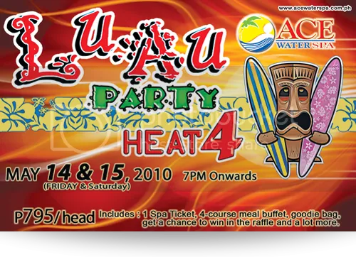 Luau Party Heat 4
