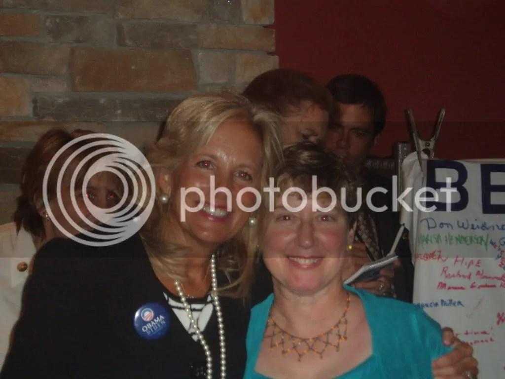 Jill Biden and Eileen Prussman