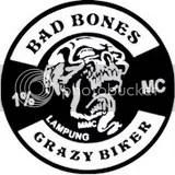 Bad bones 1% Crazy Bikers Lampung