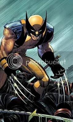 Logan, el mejor en lo que hace, matar carne de cañon.