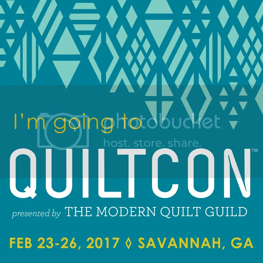 """I'm Going to QuiltCon!"