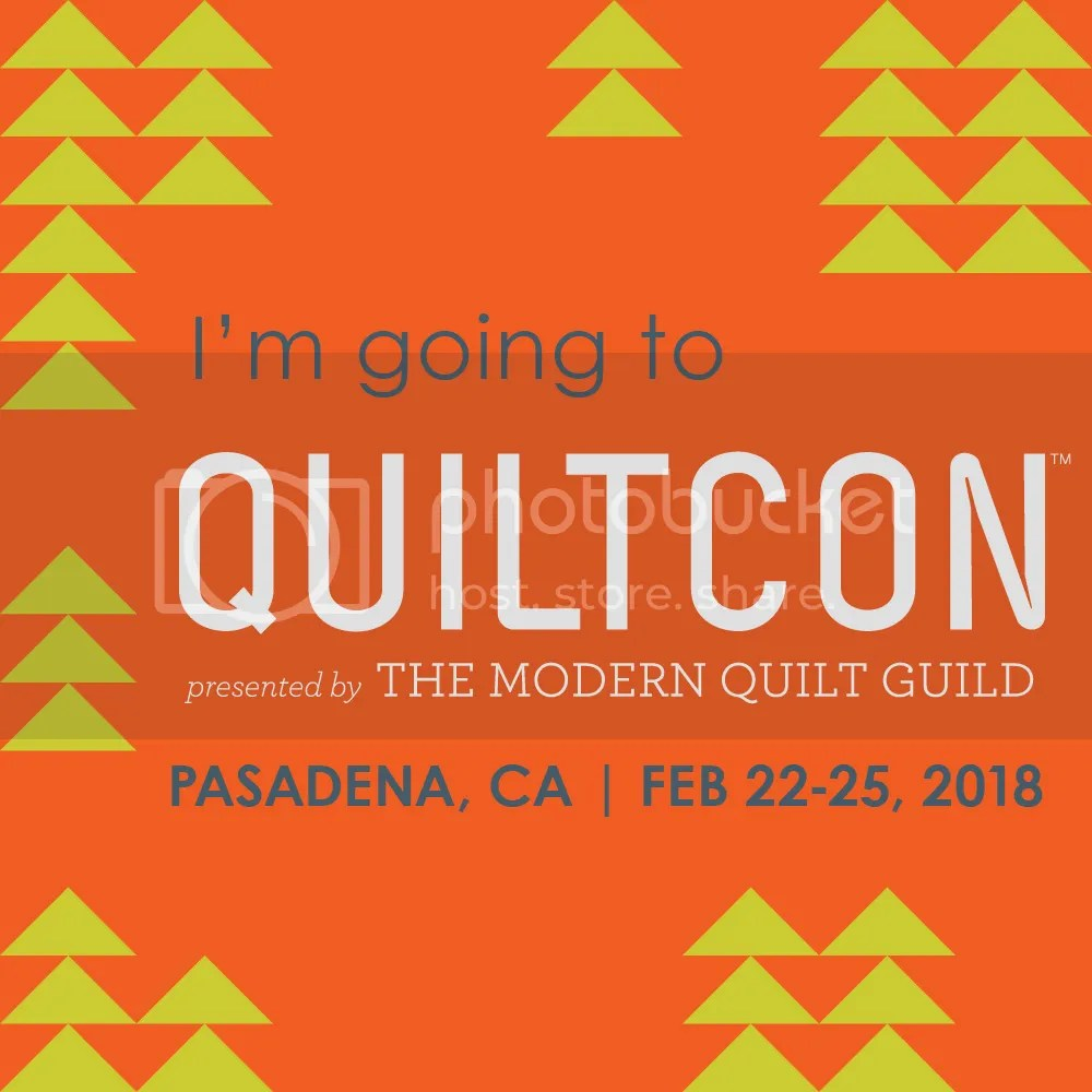 I'm Going to QuiltCon 2018!