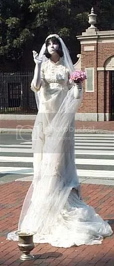 Amanda Palmer as the Eight Foot Bride