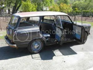 1962 Datsun 312 wagon side