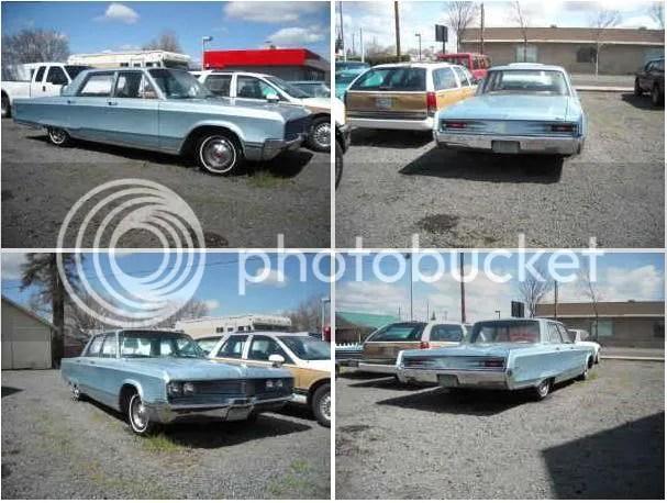 1968 Chrysler Newport sedan