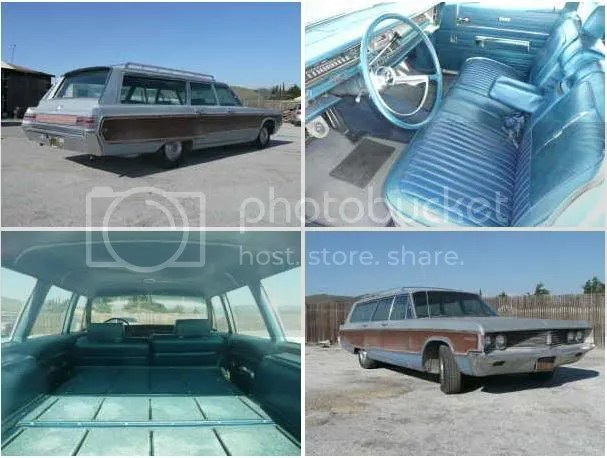 1968 Chrysler Town and Country wagon