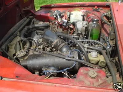 Renault R12 Break engine