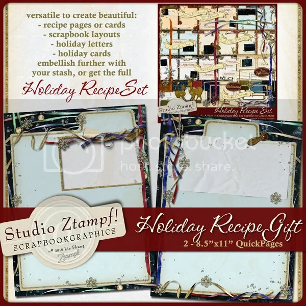 Click To Download Ztampf! Holiday Recipe Gift