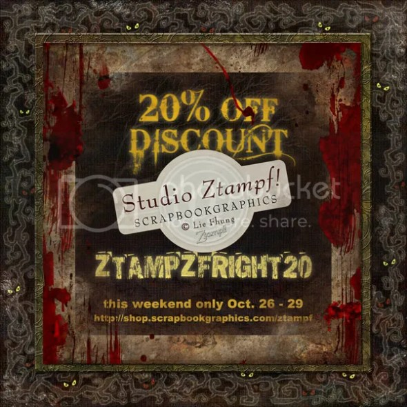 20% OFF Discount Coupon @ Studio Ztampf! - http://shop.scrapbookgraphics.com/Ztampf