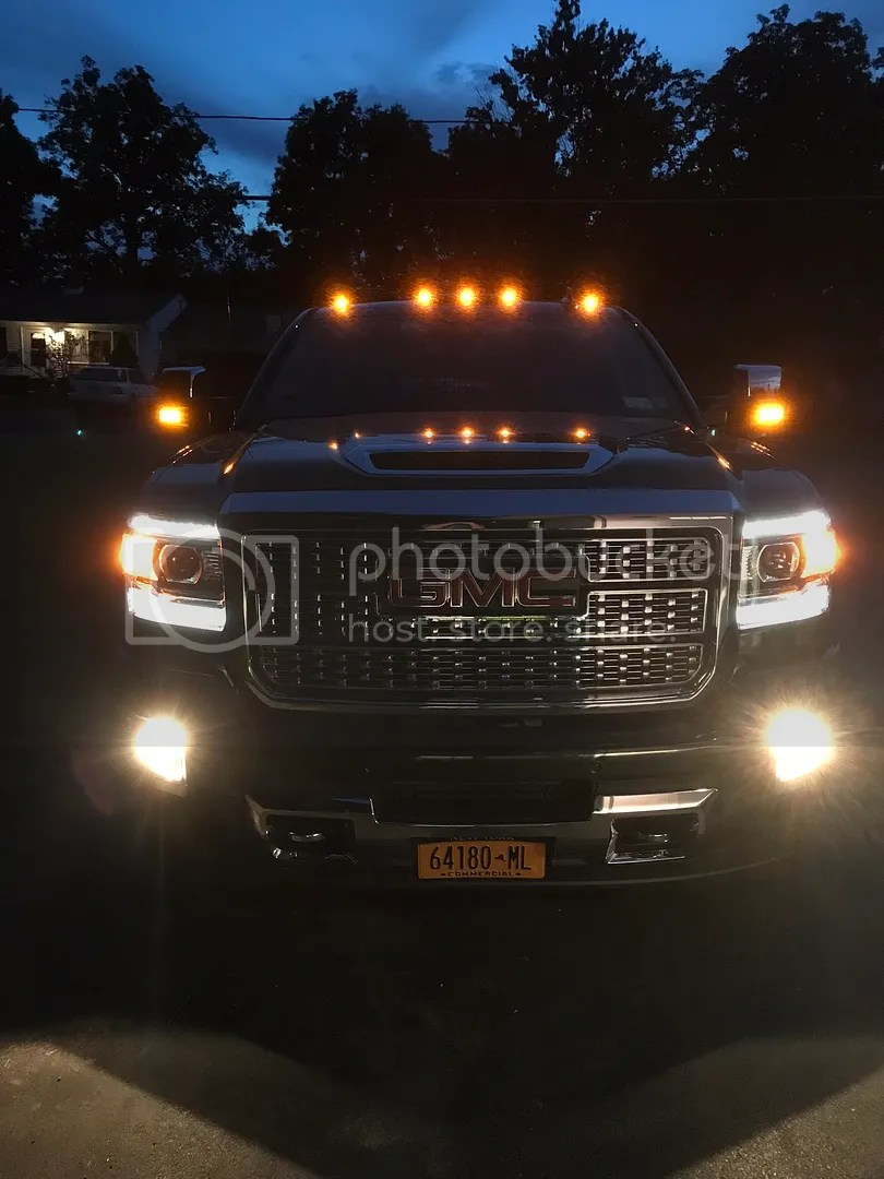 Led Cab Lights Chevy