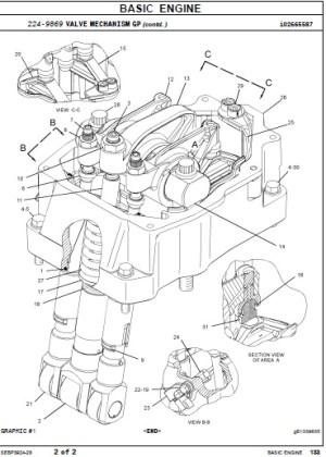 Caterpillar Parts Manual 3516B Marine Engine | Auto Repair