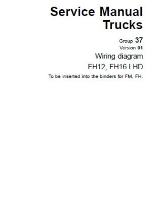 Volvo Wiring Diagramas FH12 FH16 LHD   Auto Repair