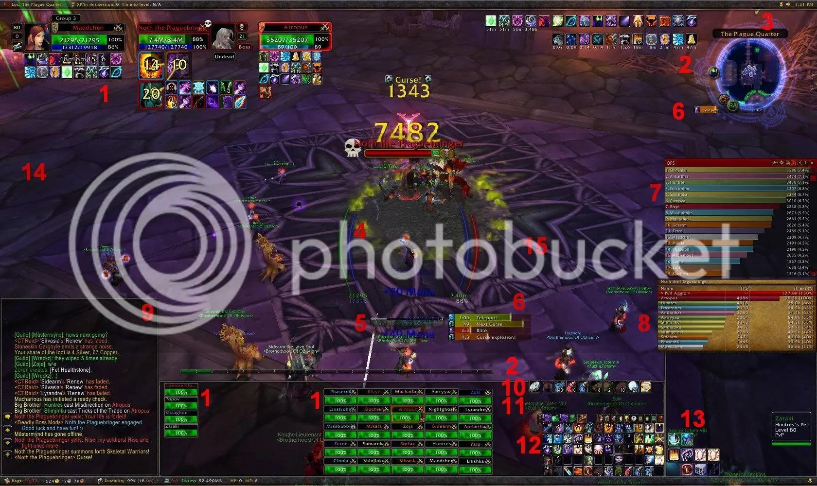 Curse raid ui