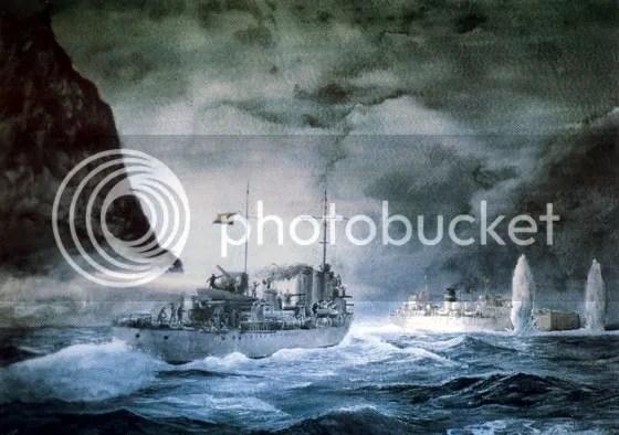 Resultado de imagen de batalla de cabo de palos 1938 imagenes