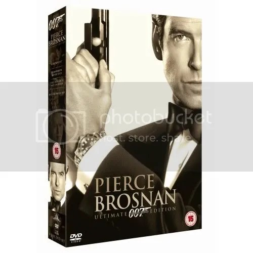 Pierce Brosnan box set - UK release (why didnt the US get this?)