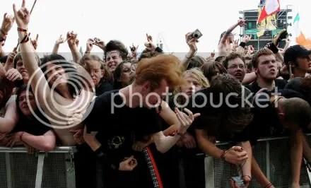 rock music fans