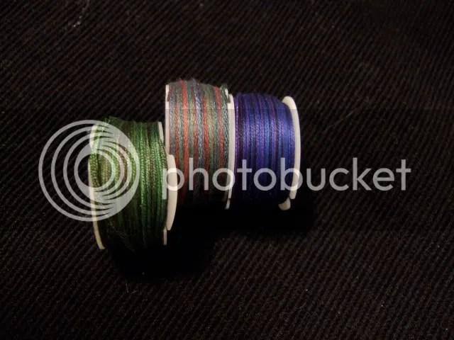 custom colour spools