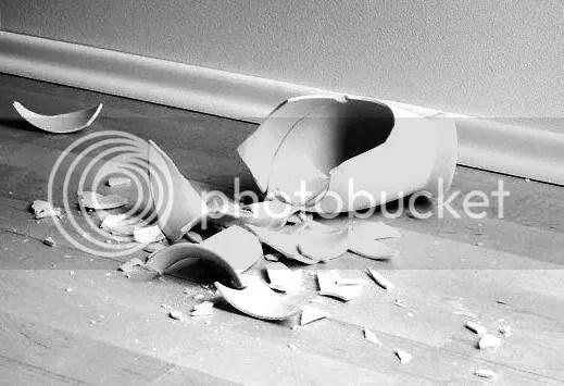 Cuando un jarrón se rompe...