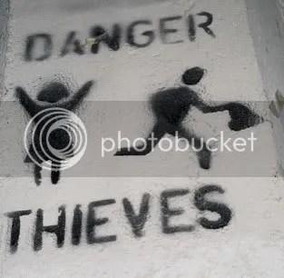 Me robaron…