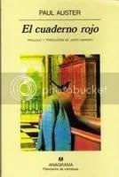 El cuaderno rojo, de Paul Auster