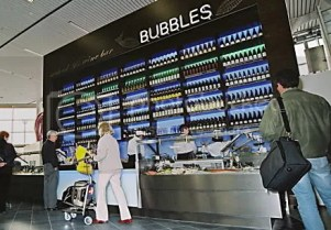 Bubbles - il wine bar dell'aeroporto di Amsterdam