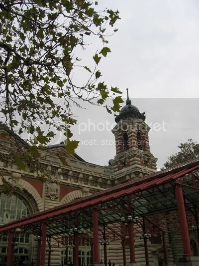 At Ellis Island