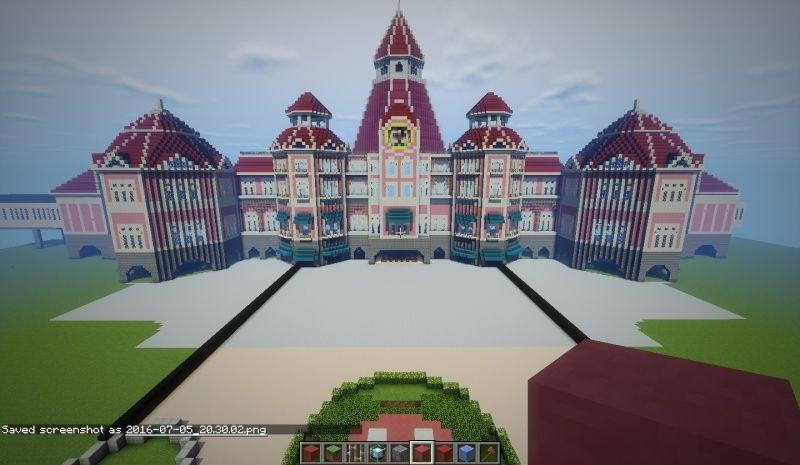 Galerie Disneyland Paris Minecraftfr Forum