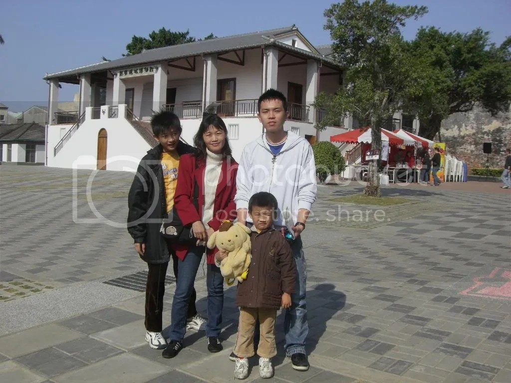 Family of three who chatted with me giving me plenty of travel tips.