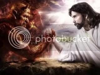 SatanvsJESUS.jpg Satan vs. JESUS image by BIGD5WAK