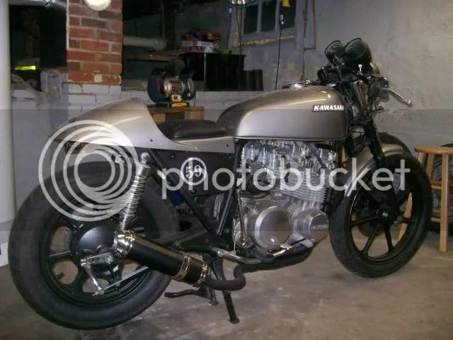 1979 kawasaki kz650-d cafe racer conversion project | the