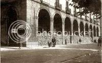 una imagen de Santander, la Plaza de la Libertad... ahora de Pombo