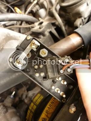 Mercedes OM617 Diesel Glow Plug Relay Wiring Schematic