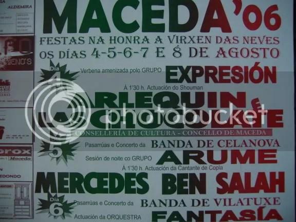 Cratel festas Maceda 2006