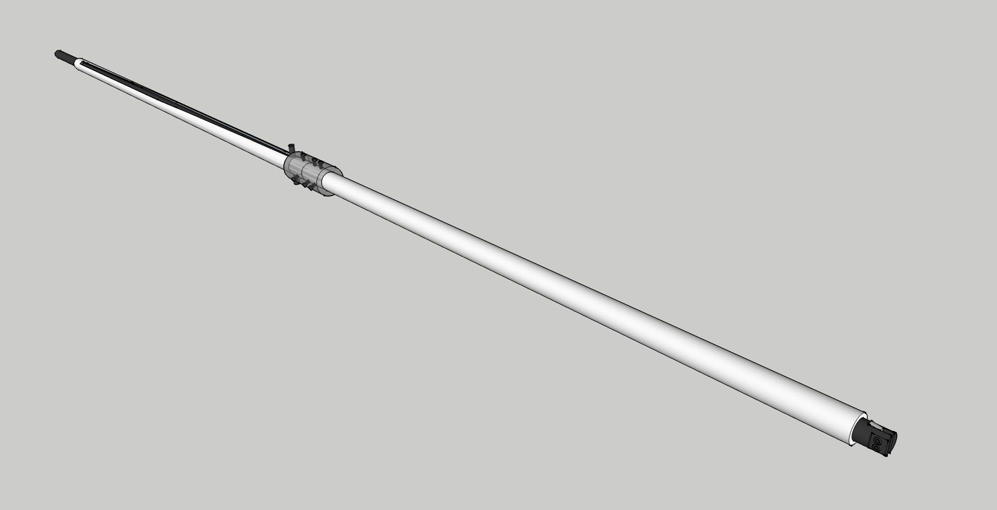 Bullet Bow With A Rifled Barrel