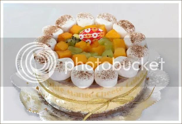 双层芒果芝士蛋糕