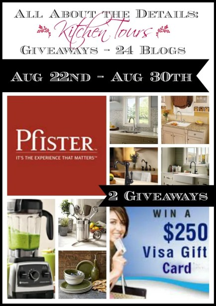 Kitchen Tour Giveaway!