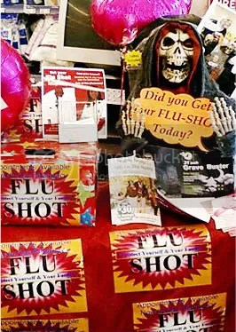 Truth in Advertising: display in Walgreens drug store in Florida