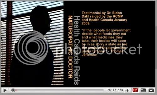 Eldon Dahl v  Health Canada, Bill C-6 | The Bovine