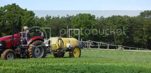 The newly approved spray consists of 30% MSG. Photo: cropcareequipment.com