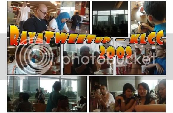 RayaTWEETup Gathering at Suria KLCC 2009