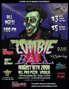 Zombie Ball - August 15th 2009