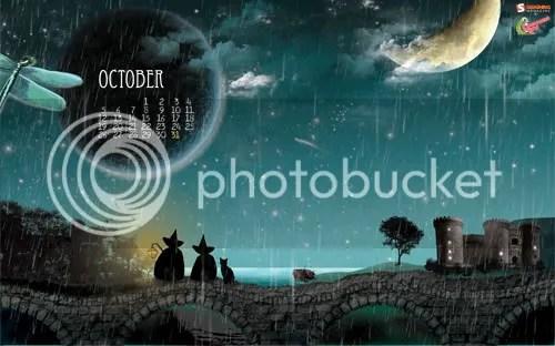 Calendario Octubre - FaryTale Land