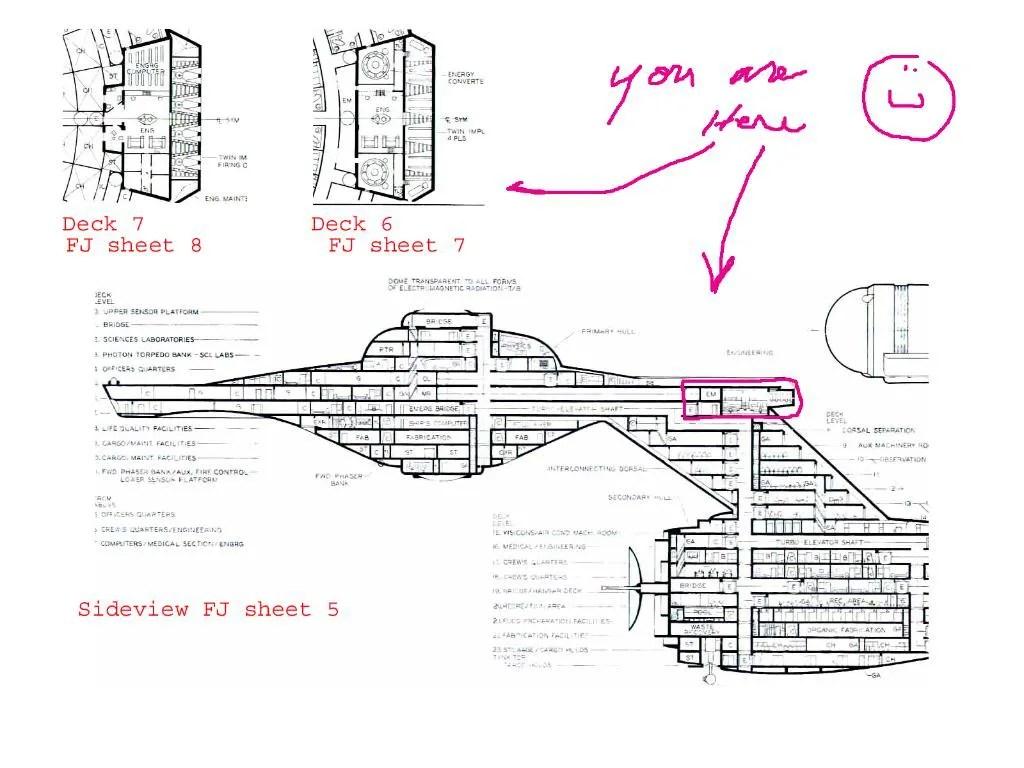 Ncc Uss Enterprise Deck By Deck