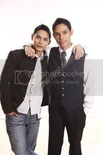 JP, the Jetsetter Dad ng Quezon City, and his twin brother JM, the Delightful Dad ng Quezon City